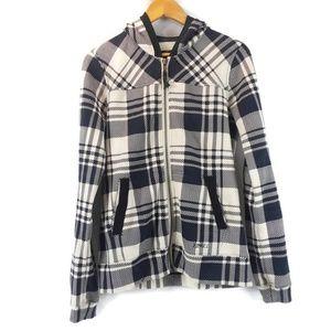 Ezekiel Plaid & Checks Elbow Patches Hoodie Jacket